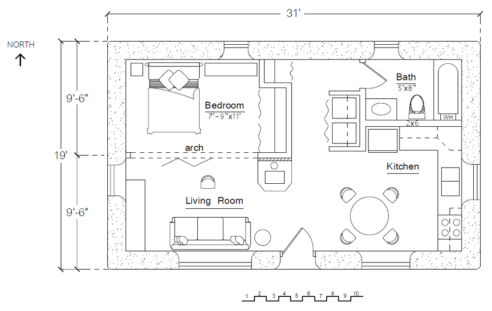 Off The Grid Cabin Floor Plans